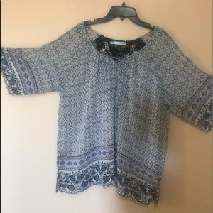 NWOT Maurice's blouse.